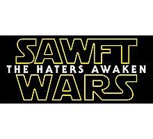 Sawft Wars - The Haters Awaken Photographic Print