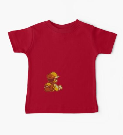 Red from Pokemon (Ash) Baby Tee