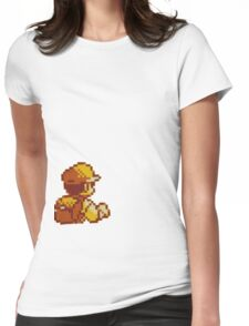 Red from Pokemon (Ash) Womens Fitted T-Shirt