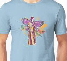 fairy with broken wing and swirls Unisex T-Shirt