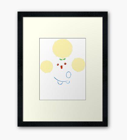 Jumpluff Pokemon Framed Print
