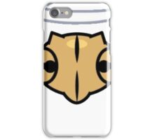 Shedinja Pokemon Head and Halo iPhone Case/Skin