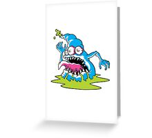 Monster Greeting Card