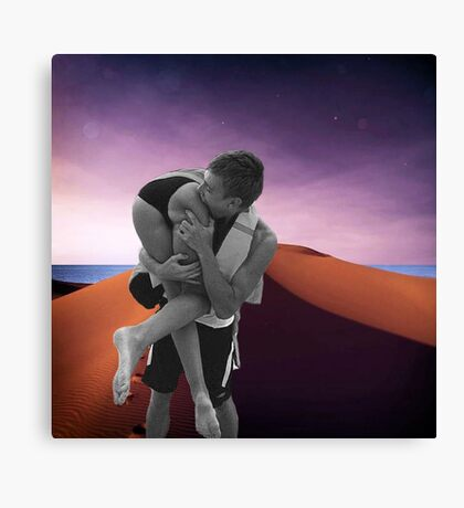 Take a bite out of Life Canvas Print