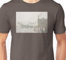 Bass Harbor in Heavy Snowstorm, Mount Desert Island, Maine Unisex T-Shirt