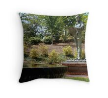 Mr. Jefferson - on his campus (UVA) Throw Pillow