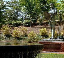 Mr. Jefferson - on his campus (UVA) by ctheworld