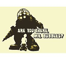 Bioshock: Are you there, Mr. Bubbles? Photographic Print