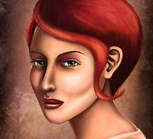 Wisdom in Her Eyes by Shawna Rowe