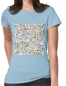 poke 4 Womens Fitted T-Shirt
