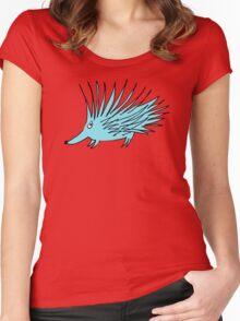blue echidna Women's Fitted Scoop T-Shirt