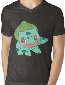 bulbasaur Mens V-Neck T-Shirt