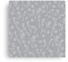 Grey tulips Canvas Print