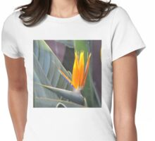 BIRD OF PARADISE Womens Fitted T-Shirt