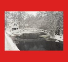 Snow Storm In Somesville Maine Photograph One Piece - Short Sleeve