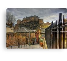 The Vennel Steps Canvas Print