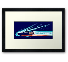 1.21 Gigawatts! Framed Print