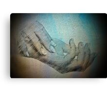 Hands that do dishes Canvas Print