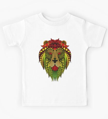 Lion Paint Kids Tee