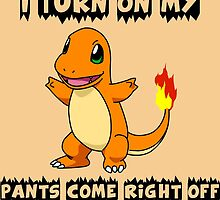 I Turn On My Charmander Pants Come Right Off by MelonLoaf
