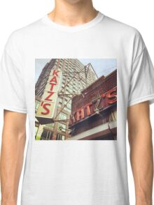 Katz's Deli, Lower East Side, NYC Classic T-Shirt