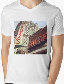 Katz's Deli, Lower East Side, NYC Mens V-Neck T-Shirt