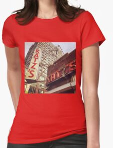 Katz's Deli, Lower East Side, NYC Womens Fitted T-Shirt