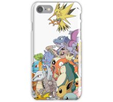pokemon 8 iPhone Case/Skin