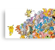 pokemon 8 Canvas Print