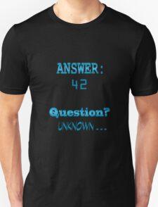 Answer 42 Unisex T-Shirt