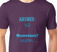 Answer 42 Unisex T-Shirt