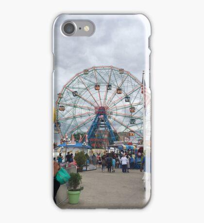 Wonder Wheel, Coney Island, Brooklyn iPhone Case/Skin