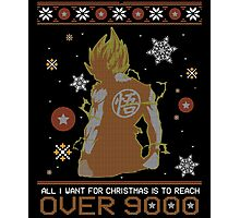 over 9000 ugly sweater Photographic Print
