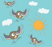 Birds by IraMukti