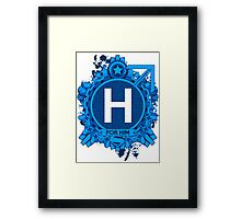 FOR HIM - H Framed Print