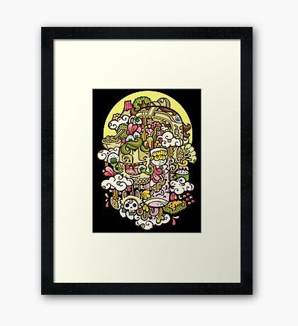 Midnight Hunger Framed Print