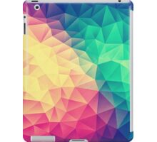 Abstract Polygon Multi Color Cubism Triangle Design iPad Case/Skin