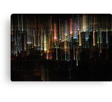 The lights of Las Vegas 2 Canvas Print