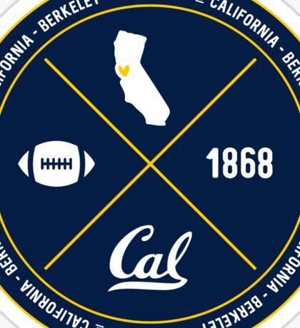 UC Berkeley - Style 12 Sticker
