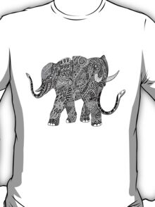 Snakelephant Indian Ink Hand Draw T-Shirt