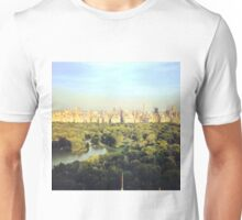 NYC Skyline and Central Park Unisex T-Shirt