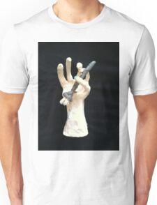 hand and brush Unisex T-Shirt