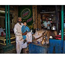 HELP THE NEEDY AND THE POOR..PICTURE TAKEN IN PAKISTAN Photographic Print