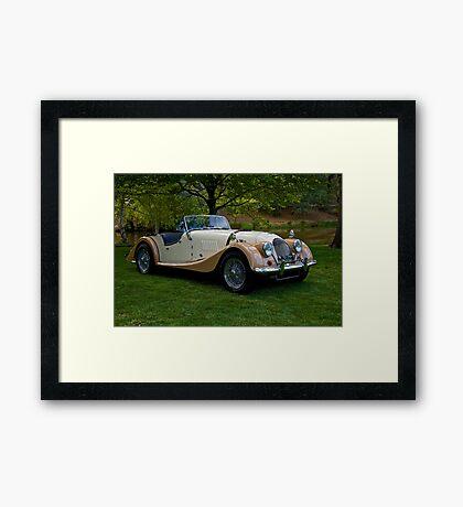 1968 Morgan +4 Roadster Framed Print