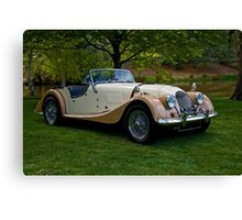 1968 Morgan +4 Roadster Canvas Print