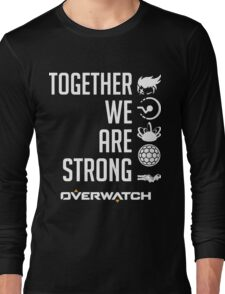 OVERWATCH ZARYA Long Sleeve T-Shirt