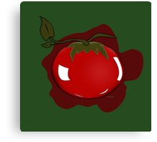 Tomato Illustrated Differently Canvas Print