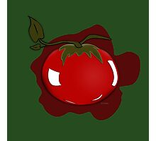 Tomato Illustrated Differently Photographic Print