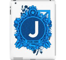 FOR HIM - J iPad Case/Skin