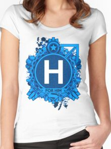FOR HIM - H Women's Fitted Scoop T-Shirt